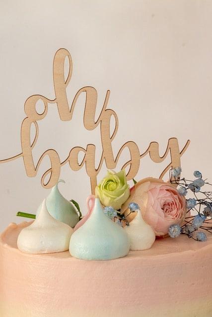 super gâteau pour baby shower